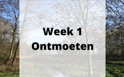 Week 1 – Ontmoeten